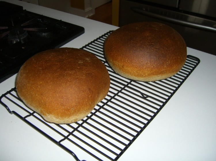 Rye Out of the Oven